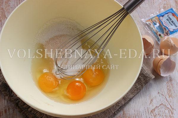 tvorozhnaya zapekanka s risom i izyumom 2
