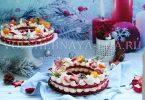 """Торт """"Новогодний венок"""""""