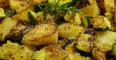 Корень фенхеля с овощами