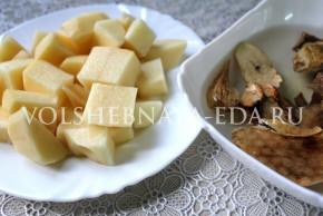Грибной суп-пюре со сливками - фото3