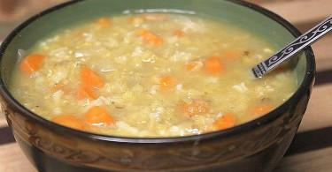 Рисовый суп с knorr