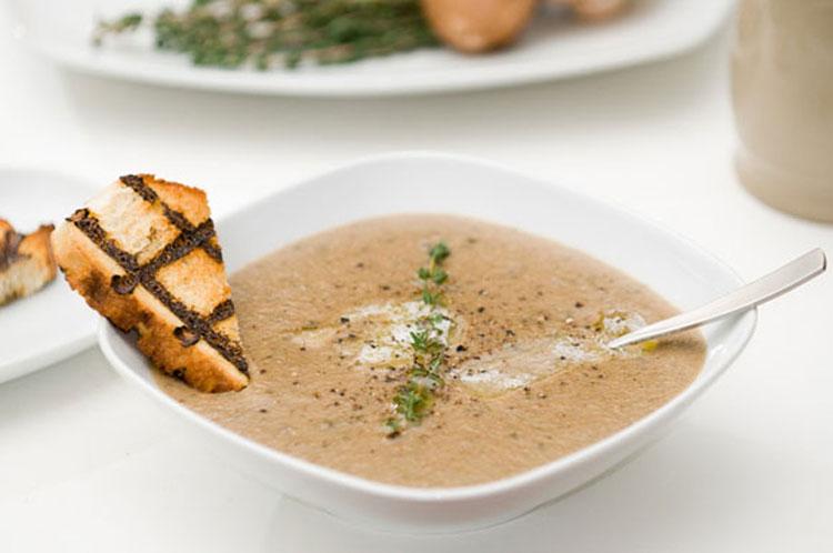 Суп из каштанов