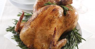 Курица целиком в медовом соусе