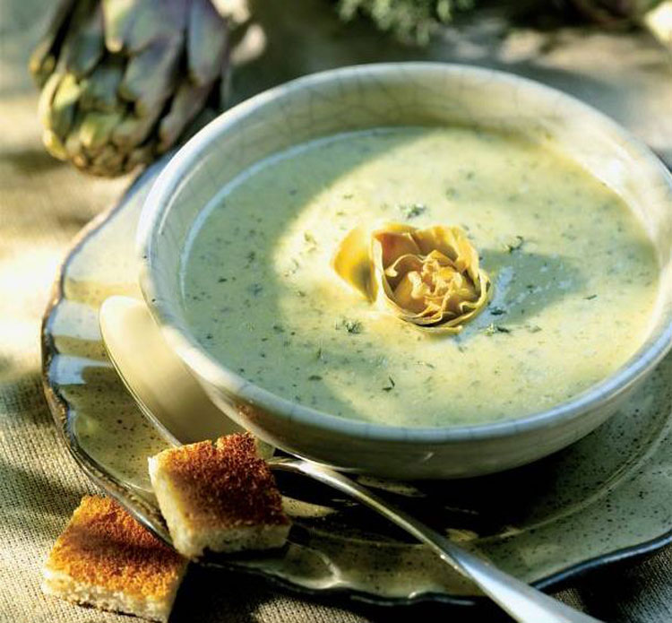 Армянский суп на йогурте