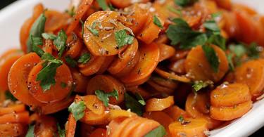 Морковный салат с тмином