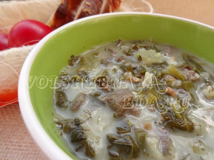 Магирица - греческий пасхальный суп
