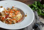 рецепту салатов с капустой