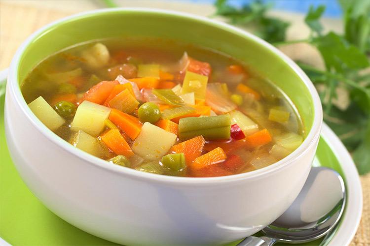 Овощной бульон: классический рецепт картинки