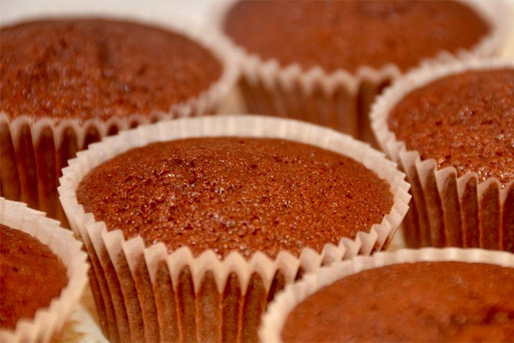 рецепт кексиков с какао