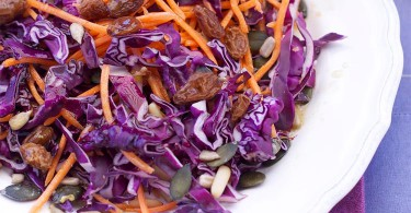 рецепт приготовления салата из красной капусты