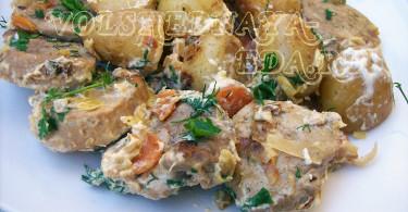 Свинина с картошкой рецепт с фото