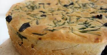 рецепт приготовления хлеба с сушеными травами