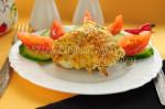 Курица под сырно-чесночной корочкой