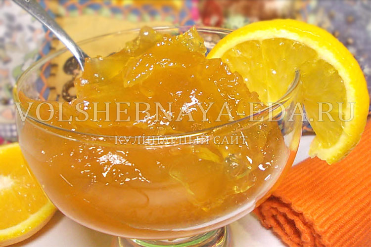 рецепт мармелада из апельсинов
