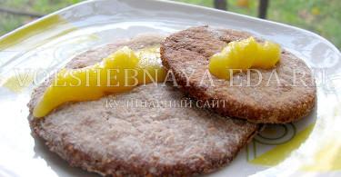 рецепт печенья из гречневой муки