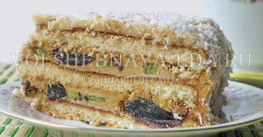 рецепт торта из готовых коржей