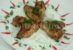 Крылышки в маринаде с корицей