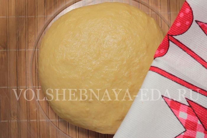горчичные булочки: шаг 6