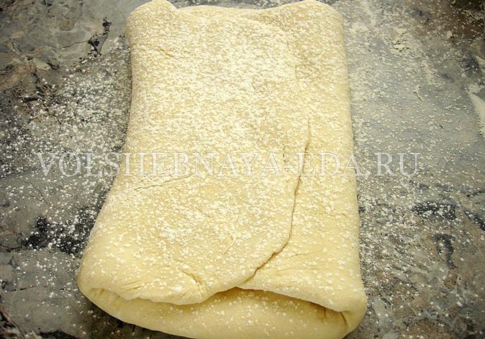 Слоеное тесто рецепт фото
