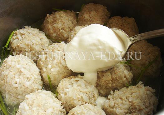 """Тефтели """"Нежные"""" – кулинарный рецепт"""