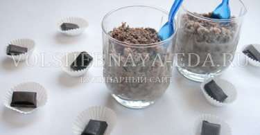 Шоколадный мусс с маскарпоне