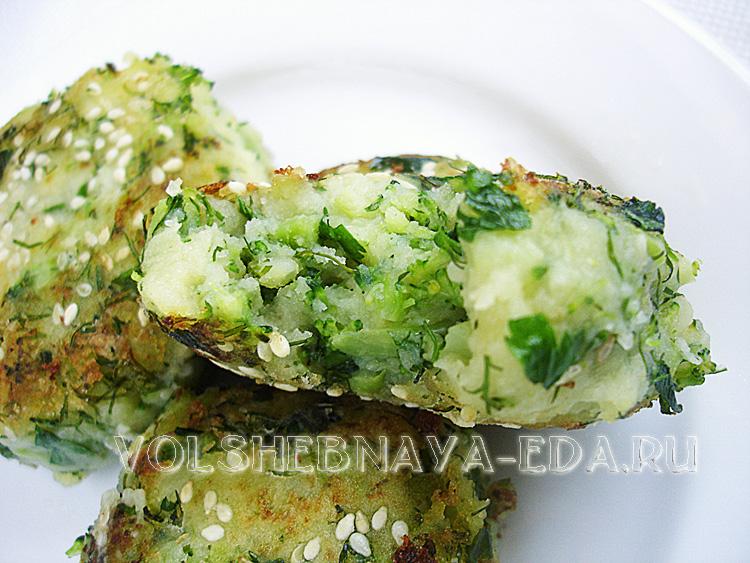 Крокеты из брокколи нежны, вкусны и полезны