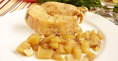 Курица под соусом рецепт с фото