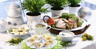 пасхальный стол рецепты