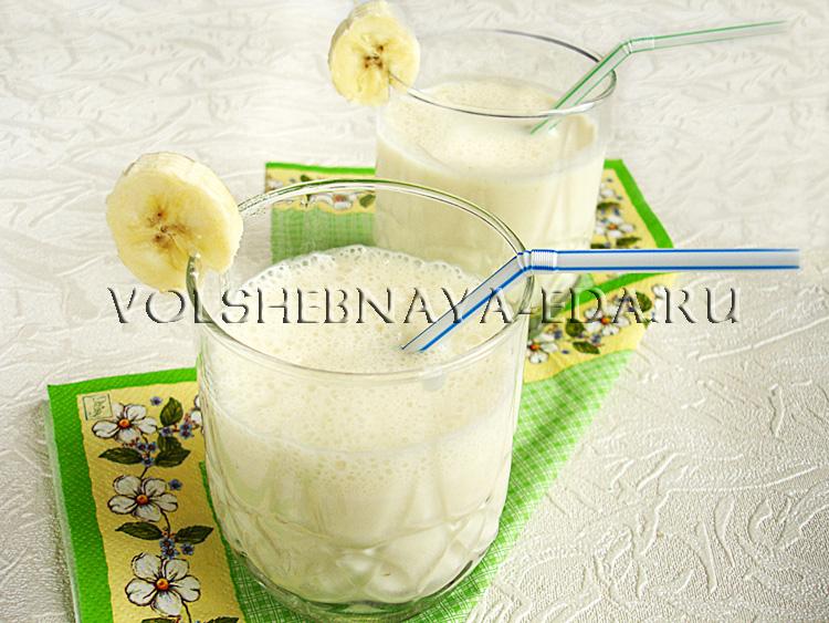 Молочный коктейль рецепт с фото