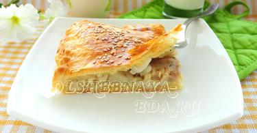 Пеленгас в слоеном тесте рецепт с фото