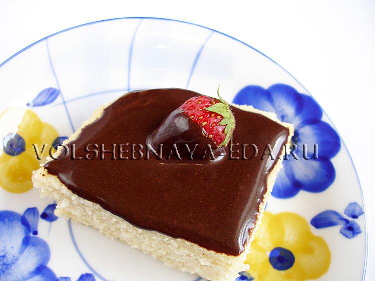 Шоколадная глазурь рецепты с фото из какао, черного и белого шоколада