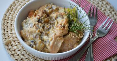 Филе индейки рецепт с фото