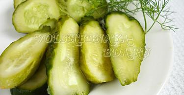 Малосольные огурцы рецепты с фото