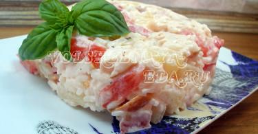 Салат с копченой курицей рецепт с фото