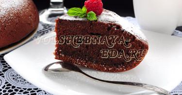 Шоколадный манник в мультиварке рецепт с фото