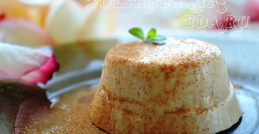 Апельсиновая панакота с корицей рецепт с фото