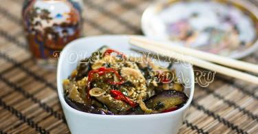 Баклажаны по-китайски рецепт с фото