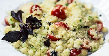 Кус-кус с овощами рецепт с фото