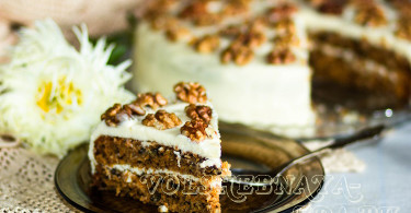 Морковный торт рецепт с фото