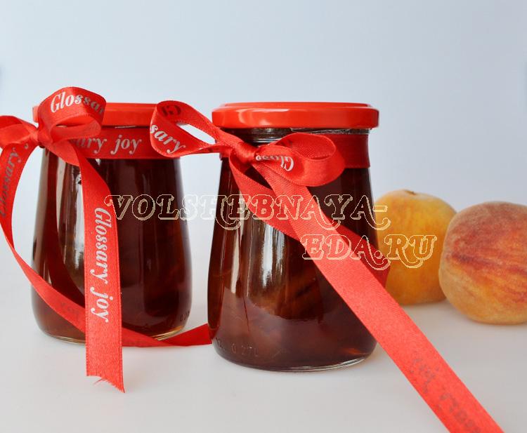 Варенье из персиков рецепт с фото