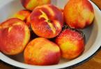 Компот из персиков на зиму рецепты