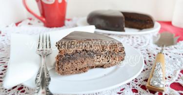 """Торт """"Захер"""" рецепт с фото"""