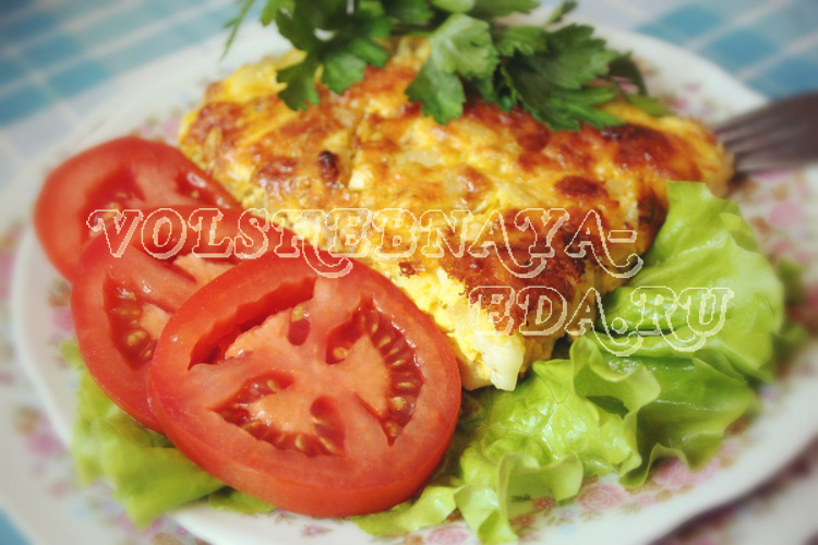 Запеканка из макарон и курицы рецепт с фото
