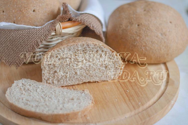 Хлеб с отрубями в духовке рецепт с фото