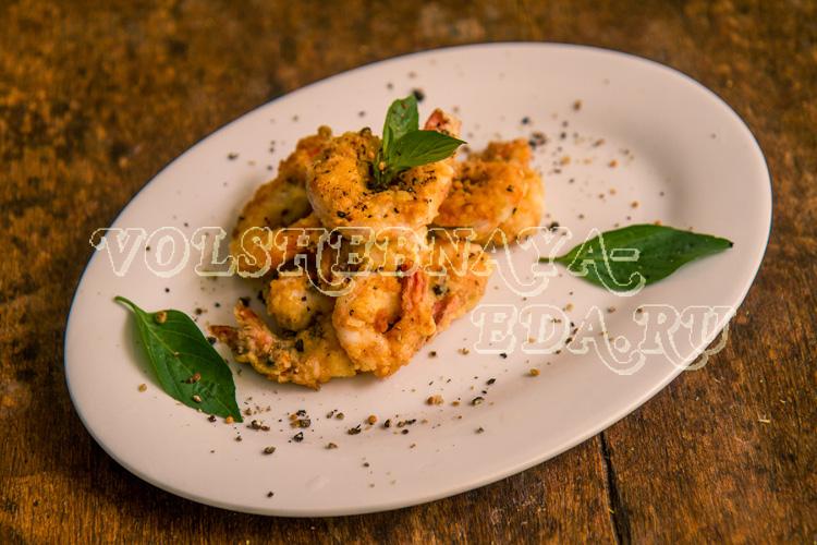 Креветки в кляре рецепт с фото