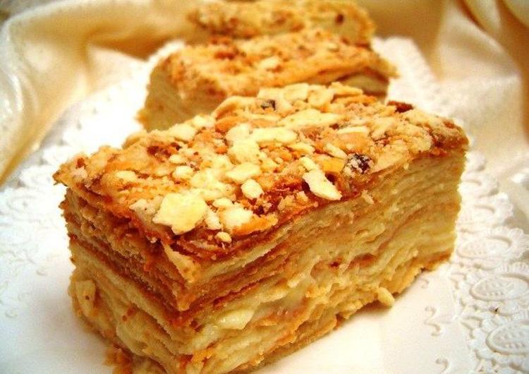 Рецепт начинки торта наполеон