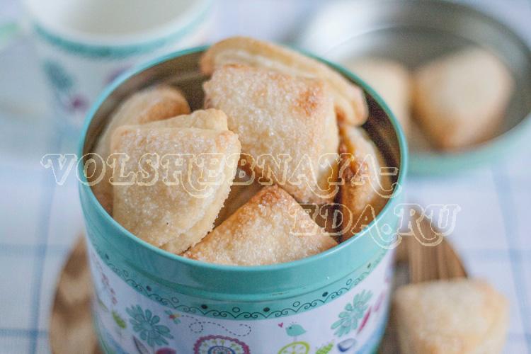 творожное печенье рецепт с фото