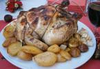 Фаршированная курица рецепт с фото
