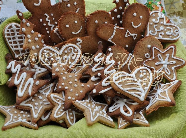 Имбирное печенье к Рождеству