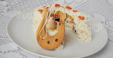 Салат Подкова рецепт с фото